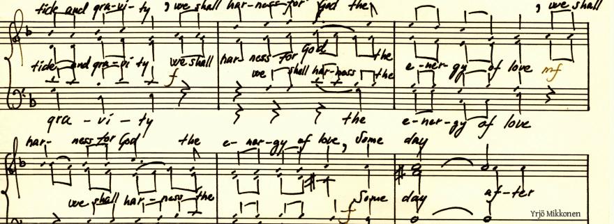 Baha'i Sheet Music - Baha'i Choral Music